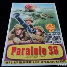 Cine: PARALELO 38,, FRANK LOVEJOY RICHARD CARLON- CINE HESPERIDES. Lote 205446936