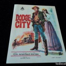 Cine: DODGE CITY ERROL FLYNN - OLIVIA DE HAVILLAND - ANN SHERIDAN CINE HESPERIDES. Lote 205447092