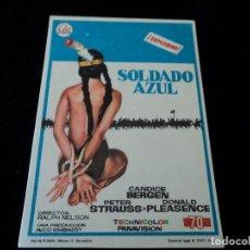 Cine: SOLDADO AZUL, CON CANDICE BERGEN CINE HESPERIDES. Lote 205468540