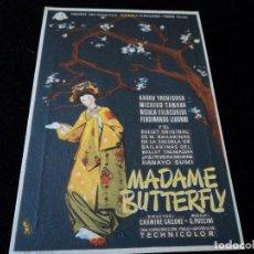Cine: MADAME BUTTERFLY - KAORU YACHIGUSA, MICHIKO TANAKA - CINE GOYA ZARAGOZA. Lote 205516397