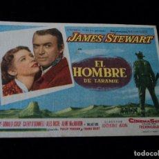 Cine: EL HOMBRE DE LARAMIE - JAMES STEWART CINE SANTA BRIGIDA DE GRAN CANARIA. Lote 205520017