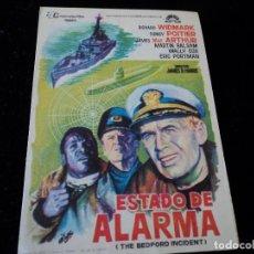 Cine: ESTADO DE ALARMA, RICHARD WIDMARK, SIDNEY POITIER CINE. TARRAGONA. Lote 205528506