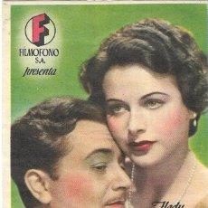 Cine: PN - PROGRAMA DE CINE - CENIZAS DE AMOR - HEDY LAMARR, ROBERT YOUNG - MÁLAGA CINEMA (MÁLAGA) - 1941.. Lote 205534227