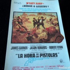 Cine: LA HORA DE LAS PISTOLAS, IMPECABLE SENCILLO, JAMES GARNER FIESTAS DE VITORIA 1968. Lote 205537163
