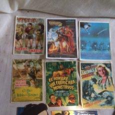 Cine: LOTE DE FOLLETOS DE CINE!1950-1970!. Lote 205607850