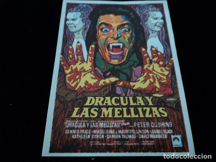 DRACULA Y LAS MELLIZAS (PETER CUSHING - MARY COLLINSON - MADELAINE COLLINSON CINE HESPERIDES (Cine - Folletos de Mano - Terror)
