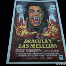 Cine: DRACULA Y LAS MELLIZAS (PETER CUSHING - MARY COLLINSON - MADELAINE COLLINSON CINE HESPERIDES. Lote 205648183