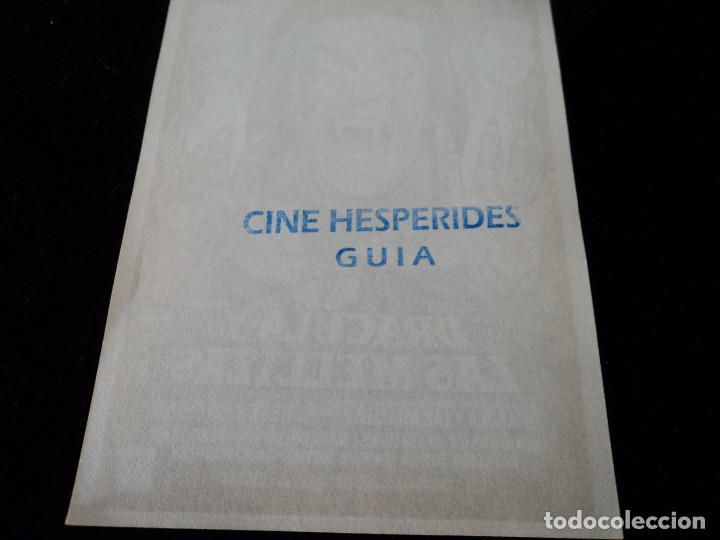 Cine: DRACULA Y LAS MELLIZAS (Peter Cushing - Mary Collinson - Madelaine Collinson CINE HESPERIDES - Foto 2 - 205648183