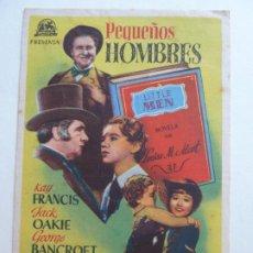 Cine: PEQUEÑOS HOMBRES. SELLO CINE. Lote 205657157