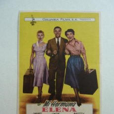 Cine: MI HERMANA ELENA. S/P. Lote 205658090