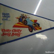 Cine: CHITTY CHITTY BANG BANG FOLLETO DE MANO TROQUELADO FORMATO BANDERIN EN TELA ALGUNOS PLIEGUES VER FOT. Lote 205669871