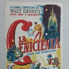 Cine: LA CENICIENTA , WALT DISNEY, RKO RADIO. Lote 205677885