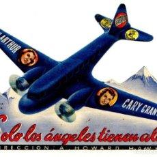 Cine: SOLO LOS ÁNGELES TIENEN ALAS, CON CARY GRANT.. Lote 205701698