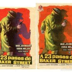 Cine: A 23 PASOS DE BAKER STREET, CON VAN JOHNSON.. Lote 205712285