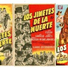 Cine: LOS JINETES DE LA MUERTE, (3 JORNADAS) CON BUCK JONES.. Lote 205779100