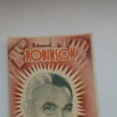 Cine: FOLLETO DE CINE EL HOMBRE DE LAS DOS CARAS CON MARY ASTOR DE 1940. Lote 205822645