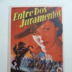 Cine: ENTRE DOS JURAMENTADOS. S/P. SOLIGÓ. Lote 205965892