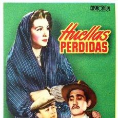 Folhetos de mão de filmes antigos de cinema: PROGRAMA DE MANO. HUELLAS PERDIDAS (RAPHAEL J. SEVILLA). ESTHER FERNÁNDEZ RAPHAEL J. SEVILLA JR.. Lote 206147800