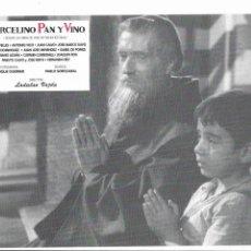 Cine: FOLLETO DE MANO PELICULA . MARCELINO PAN Y VINO - 27X20CM. Lote 206215063