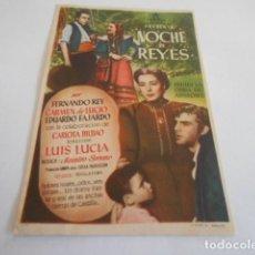 Cine: 10 - FOLLETO CINE - CON PUBLICIDAD - CINE CAPITOL - NOCHE DE REYES. Lote 206239597