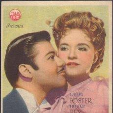 Cine: PROGRAMA SENCILLO DE MISTERIO EN LA ÓPERA (1944) - TEATRO CALDERÓN DE ALCOY. Lote 206260567