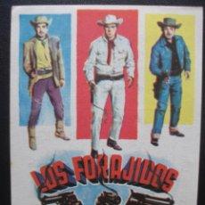 Cine: LOS FORAJIDOS, JOAQUIN CORDERO, CINE CAPITOL DE MÁLAGA. Lote 206313737