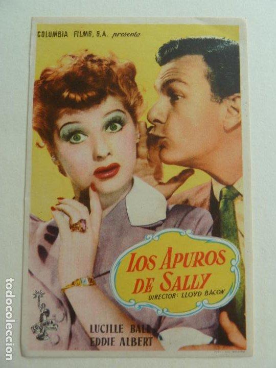 LOS APUROS DE SALLY. S/P (Cine - Folletos de Mano - Comedia)