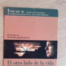 Cine: TARJETA POSTAL - EL OTRO LADO DE LA VIDA STING BLADE. Lote 206451355