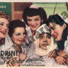 Cine: MIENTRAS EL CUERPO AGUANTE - IMPERIAL CINEMA DE ÉCIJA (CA. 1947). Lote 206573075