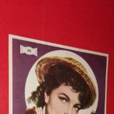 Cine: PROGRAMA DE CINE - SUEÑOS DE CIRCO - ROMY SCHNEIDER, LILI PALMER - 1957 GRAN TEATRO MAESTRO GUERRERO. Lote 206577212