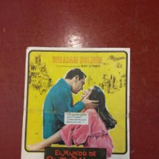 Cine: EL MUNDO DE SUZIE WONG. WILLIAM HOLDEN.. Lote 206770915