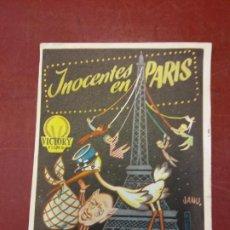 Cine: INOCENTES EN PARIS. ALASTAIR SIM.. Lote 206771476