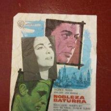 Cine: NOBLEZA BATURRA. MIGUEL LIGERO.. Lote 206771595