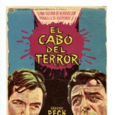 Cine: EL CABO DE TERROR, CON GREGORY PECK.. Lote 206961128