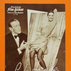 Flyers Publicitaires de films Anciens: PROGRAMA CINE EN ALEMAN - SEIDENSTRÜMPFE ( SILK STOCKINGS ) - AÑO 1957... L1220. Lote 207114481