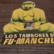 Cine: ANTIGUO PROGRAMA DE CINE TROQUELADO LOS TAMBORES DE FU MANCHU. Lote 207176566