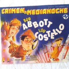 Cine: CRIMEN A MEDIANOCHE AÑO 1945 TEATRO CINE VICH. Lote 207269835