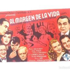 Cine: AL MARGEN DE LA VIDA CHARLES BOYER, BARBARA STANWYCK. TEATRO CINE VICH. Lote 207270576