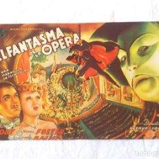 Cine: EL FANTASMA DE LA OPERA UNIVERSAL CINE CANIGÓ VICH. Lote 207271263