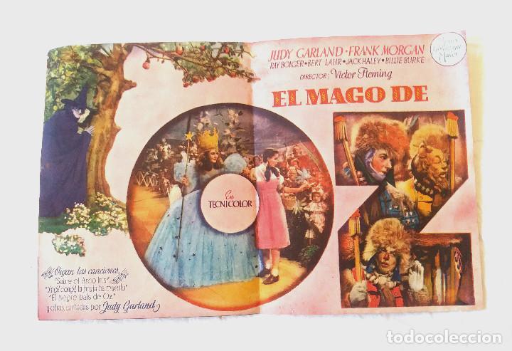 Cine: El Mago de Oz año 1945 Programa Doble. Teatro Tivoli - Foto 2 - 207279238
