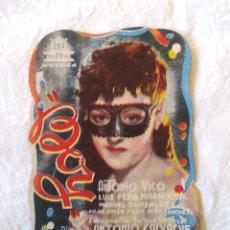 Cine: BOY AÑO 1942 CIFESA PROGRAMA TROQUELADO. SALON CLARET. Lote 207282182