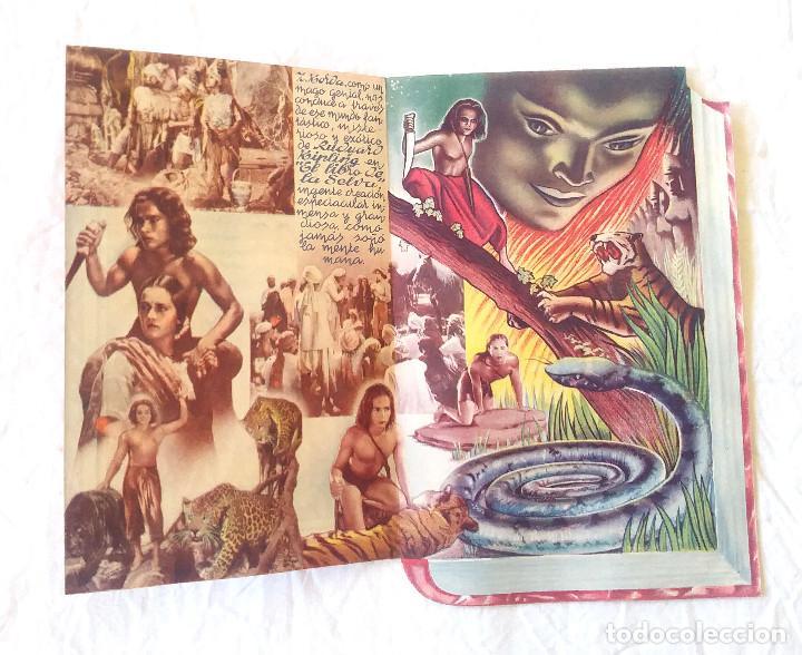 Cine: El libro de la Selva año 1945 Programa doble Troquelado Teatro Cine Canigó Vich - Foto 2 - 207298473
