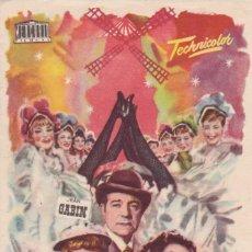 Folhetos de mão de filmes antigos de cinema: FRENCH CANCAN. Lote 207376481