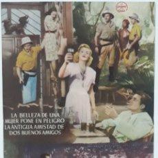 Cine: FOLLETO DE CINE LUNA DE BIRMANIA. Lote 207643471