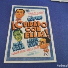 Cine: PROGRAMA DE MANO ORIG - CUIDADO CON ELLAS - CINE DE SEVILLA. Lote 207733438