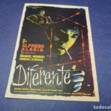 Cine: PROGRAMA DE MANO ORIG - DIFERENTE - CINE DE CARMONA. Lote 207771646