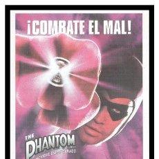 Foglietti di film di film antichi di cinema: FOLLETO DE MANO, THE PHANTOM, EL HOMBRE ENMASCARADO.. Lote 207961955