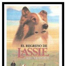 Cine: FOLLETO DE MANO, EL REGRESO DE LASSIE. (LOS BUENOS AMIGOS SON PARA SIEMPRE).. Lote 207962531