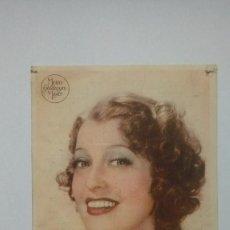 Cine: FOLLETO DE CINE LA ESPIA DE CASTILLA FOTO DE JEANETTE MACDONALD CINEMA PROYECCIONES 1941. Lote 208003280