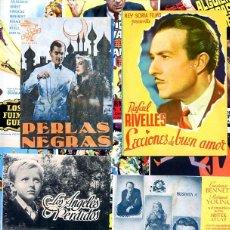 Cine: LOTE DE 50 FOLLETOS PROGRAMAS DE CINE ORIGINALES TODOS DIFERENTES EN PERFECTO ESTADO. Lote 208047413